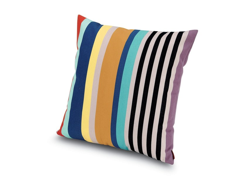 Square fabric cushion SUMATRA | Square cushion - MissoniHome