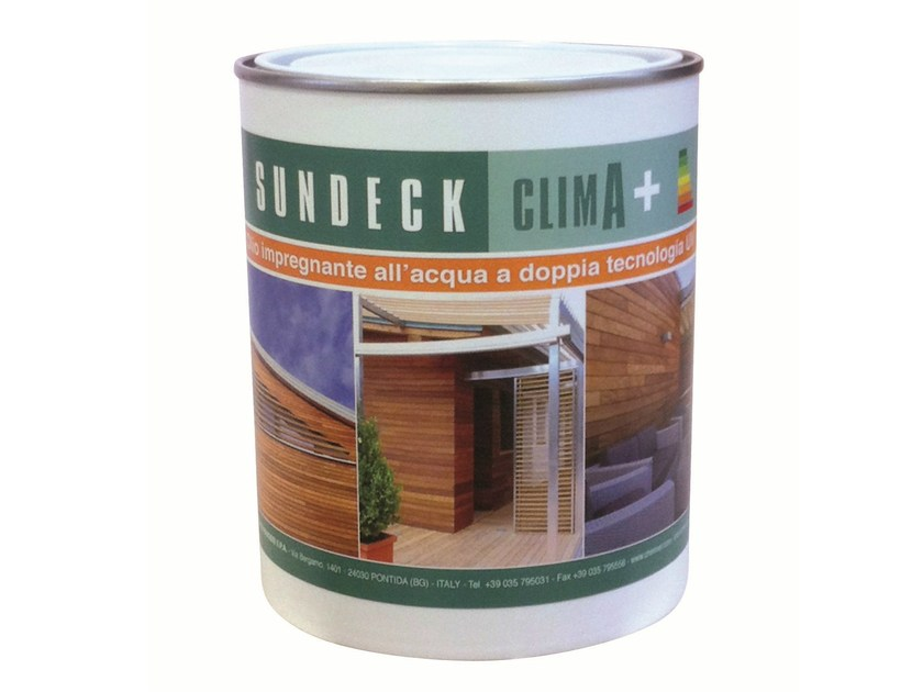 Wood treatment SUNDECK CLIMA+ - Chimiver Panseri