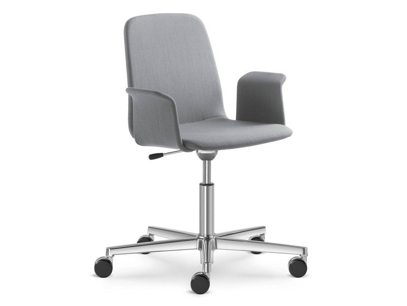 Task chair with 5-Spoke base with casters SUNRISE 152-F37 - LD Seating