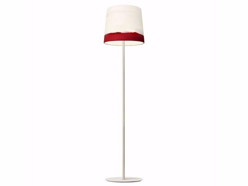 Handmade fabric floor lamp SUNRISE | Floor lamp - Mammalampa