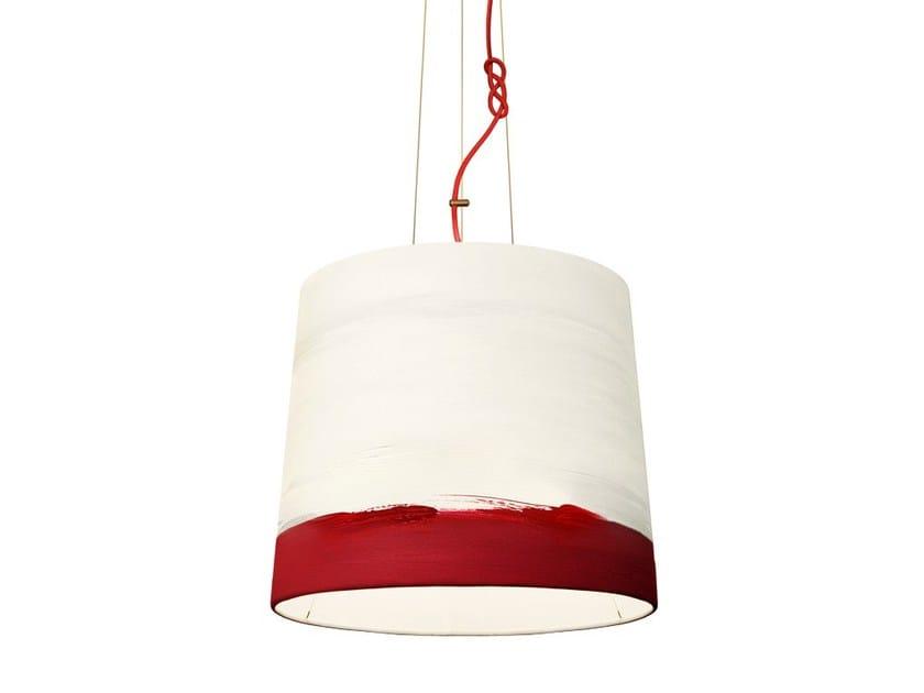 Handmade fabric pendant lamp SUNRISE | Pendant lamp - Mammalampa
