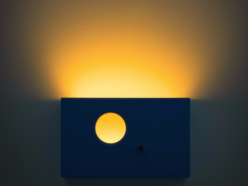 LED metal wall lamp with dimmer SUNSET by DAVIDE GROPPI