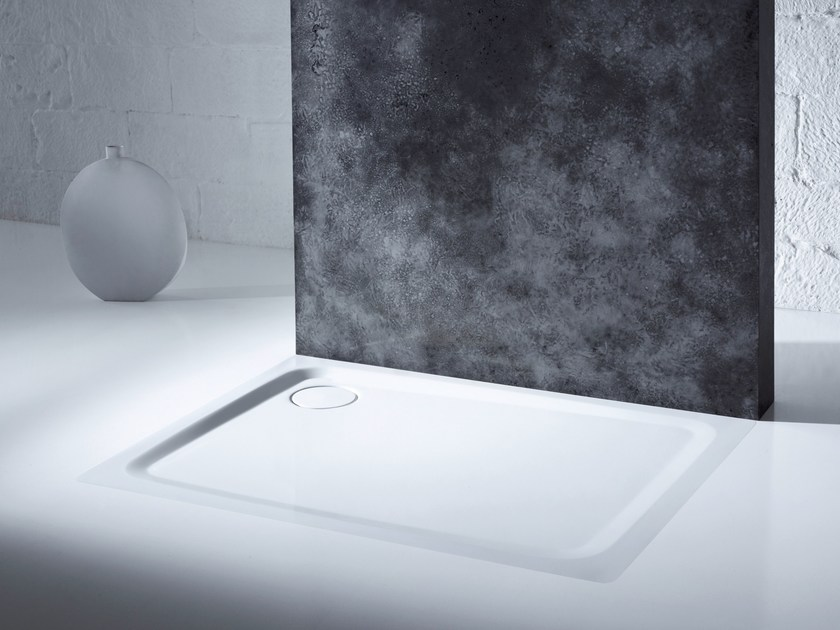 Flush fitting shower tray SUPERPLAN PLUS by Kaldewei Italia