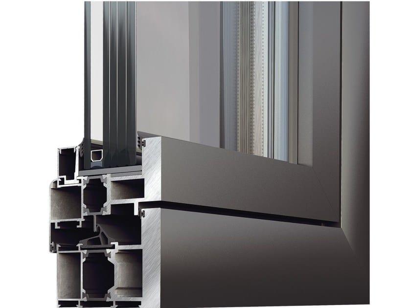 Porta-finestra a taglio termico di sicurezza SUPREME M9760 - Alumil