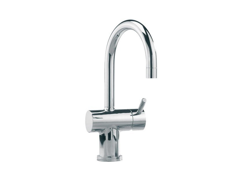 Countertop washbasin mixer with automatic pop-up waste SURF | Countertop washbasin mixer - rvb