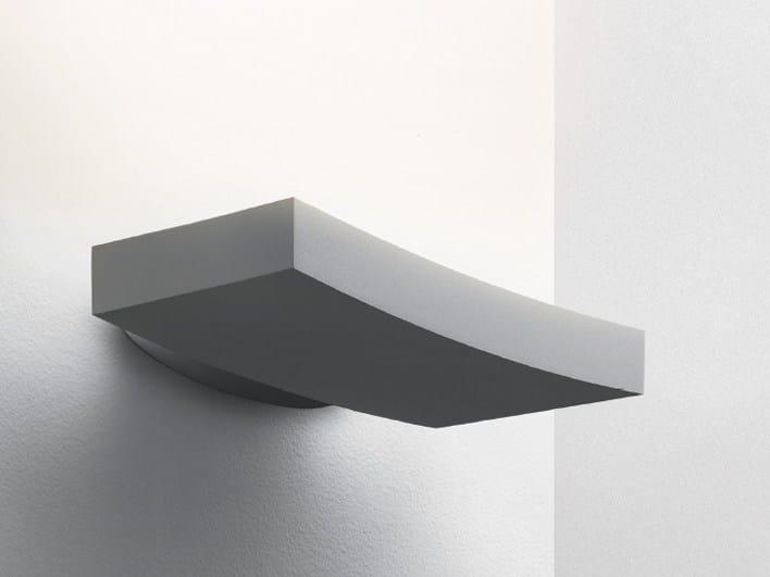 Applique a luce indiretta in alluminio verniciato a polvere SURF | Lampada da parete by Artemide