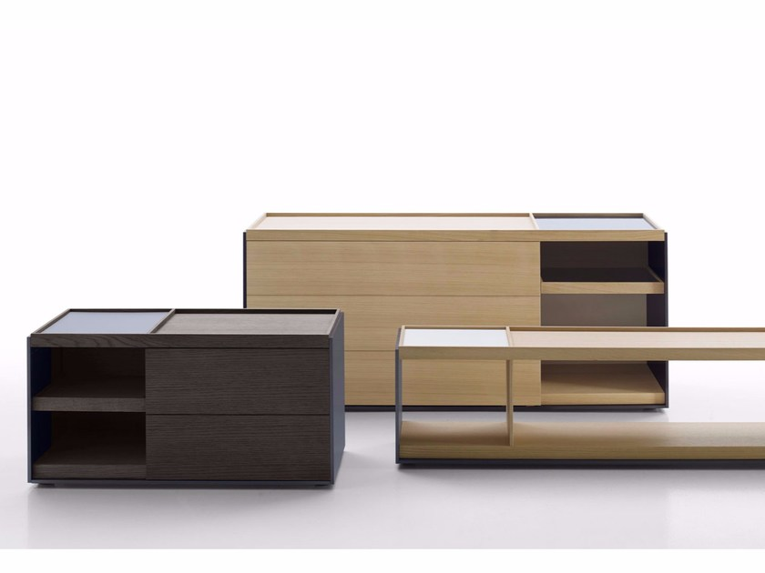 Storage units with drawers SURFACE by B&B Italia