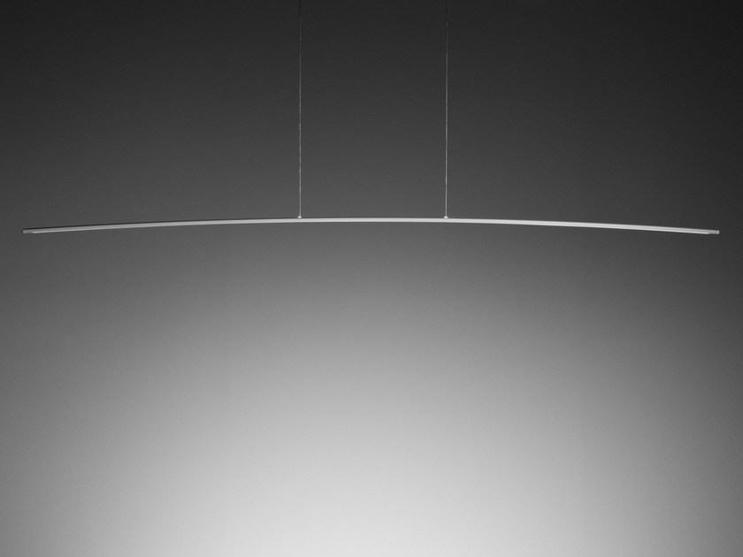 LED powder coated aluminium pendant lamp SURFIN' | Pendant lamp - millelumen