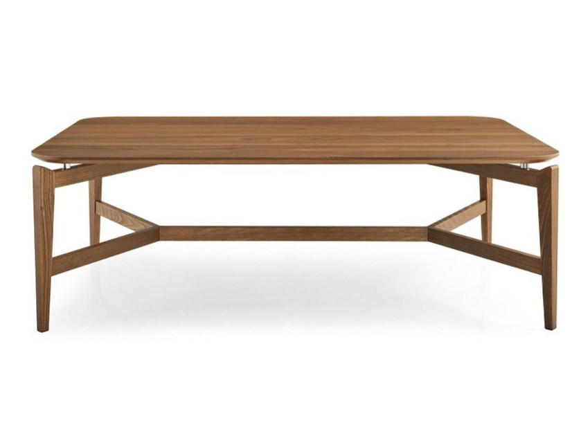Rectangular wooden coffee table SYMBOL | Rectangular coffee table - Calligaris