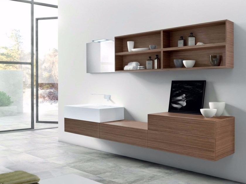 Bathroom cabinet / vanity unit SYN 03 by LASA IDEA