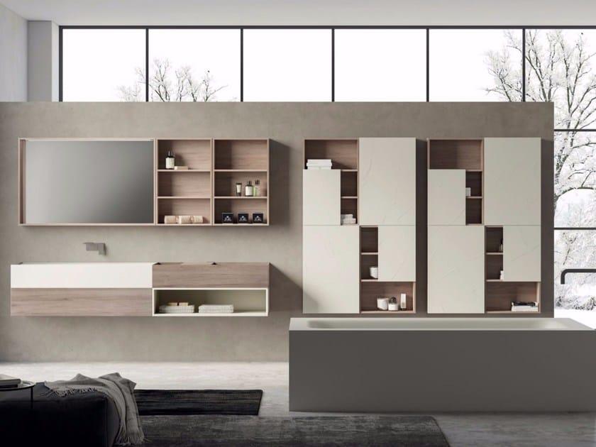 Bathroom cabinet / vanity unit SYN 09 by LASA IDEA