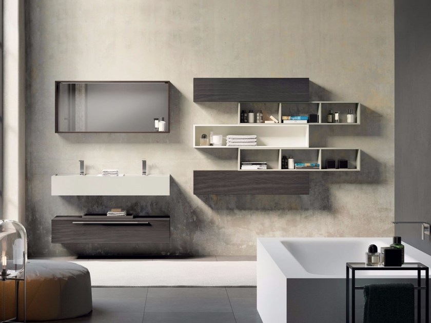 Bathroom cabinet / vanity unit SYN 14 - LASA IDEA