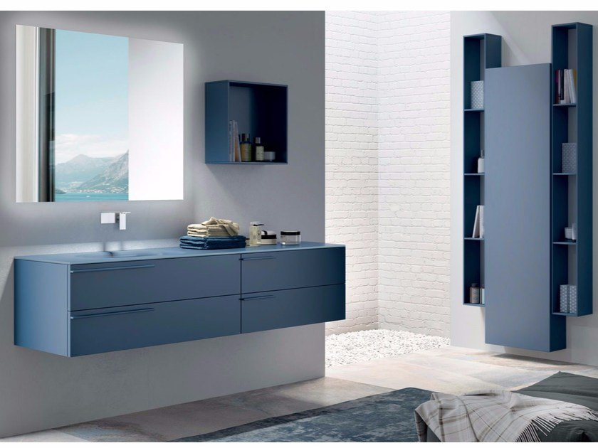 Bathroom cabinet / vanity unit SYN 15 - LASA IDEA