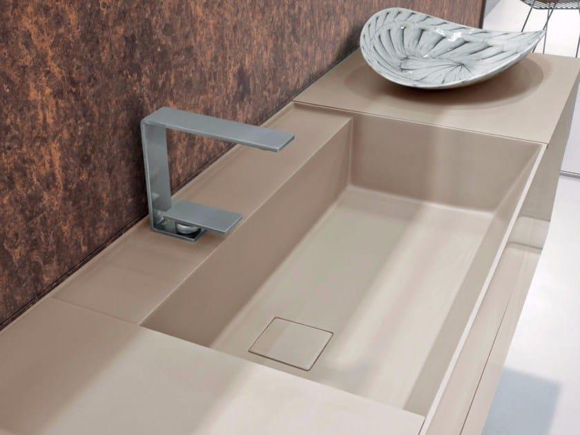 Undermount rectangular Tekhnos washbasin SYN | Undermount washbasin - LASA IDEA