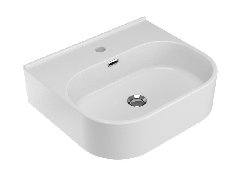 Ceramic washbasin SYNTHESIS | Washbasin - Olympia Ceramica