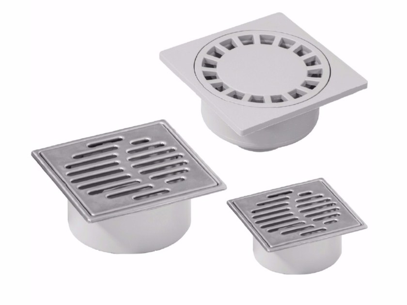 Manhole cover and grille for plumbing and drainage system SYPHONED GULLY by Dakota