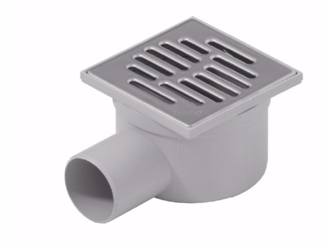 Manhole cover and grille for plumbing and drainage system SYPHONED GULLY WITH LATERAL EXIT by Dakota