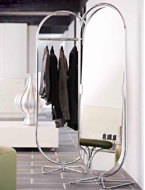specchio basculante da terra system 1 2 3 specchio verpan