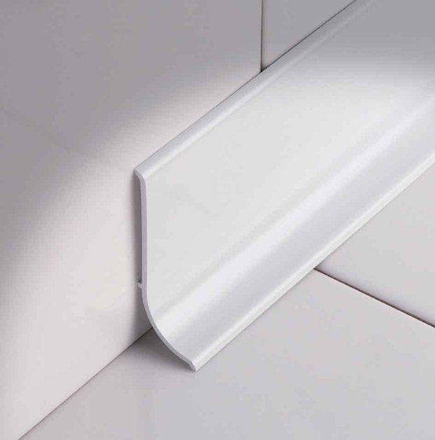 Skirting board Sanitec IC60 by PROFILITEC