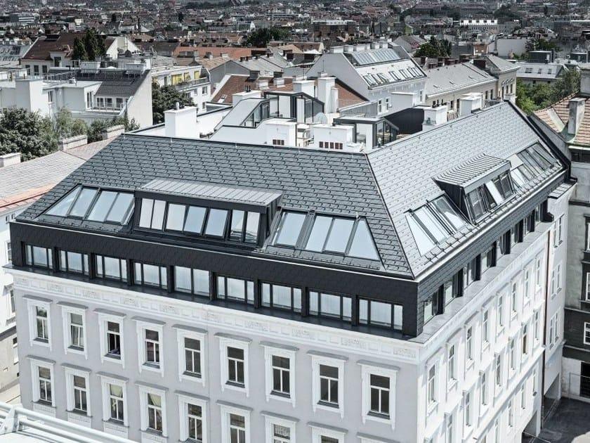 Aluminium Metal shingle for roof Aluminium roof shingle by PREFA ITALIA