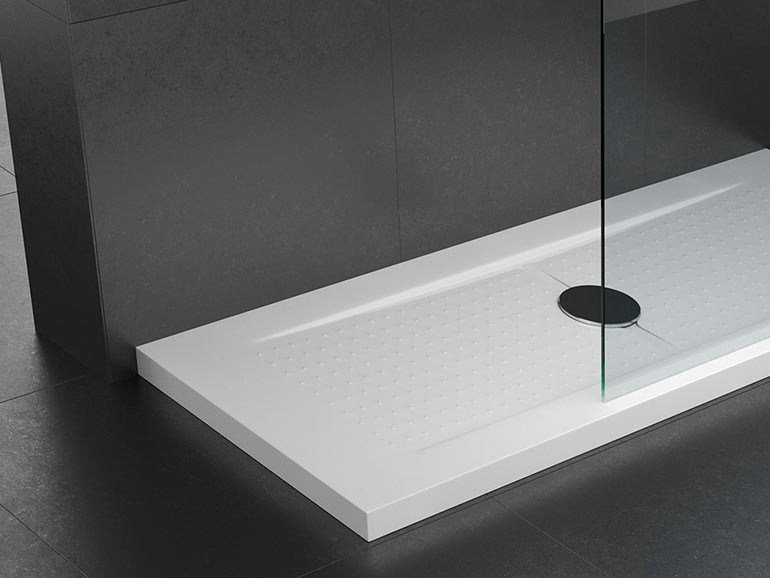 Custom acrylic shower tray Shower tray by Remail by G.D.L.