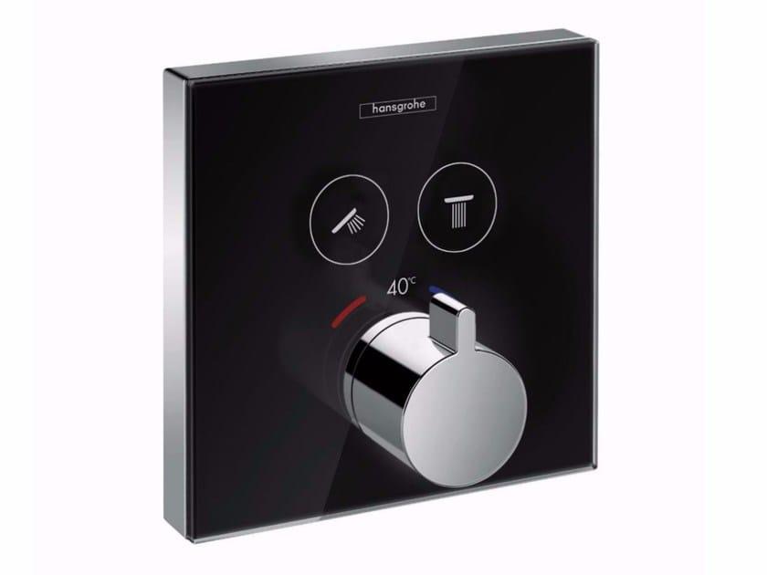 Miscelatore termostatico per doccia in vetro temperato ShowerSelect - HANSGROHE