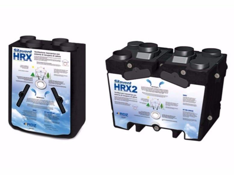 Built-in air treatment unit Silavent HRX - HRX2 - RDZ