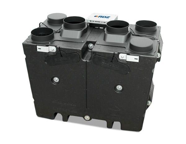 Mechanical forced ventilation system Silavent HRX2D-FC by RDZ