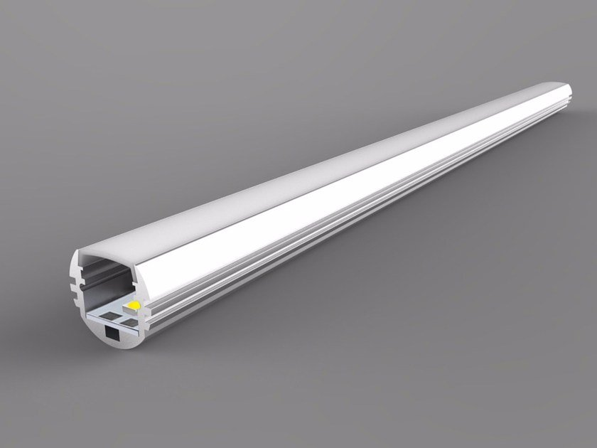 Linear LED light bar Single Color Round Series - Neonny