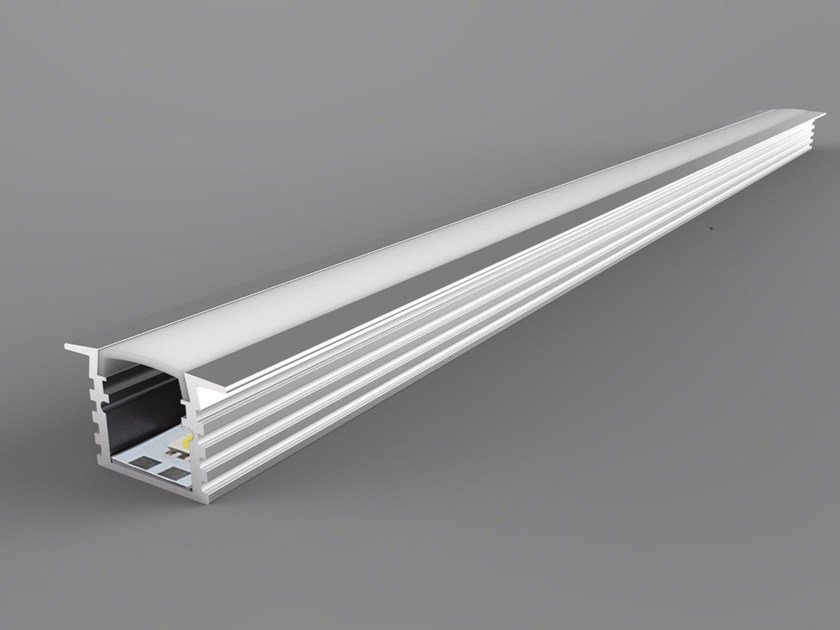 Linear lighting profile Single Color Wings Series by Neonny