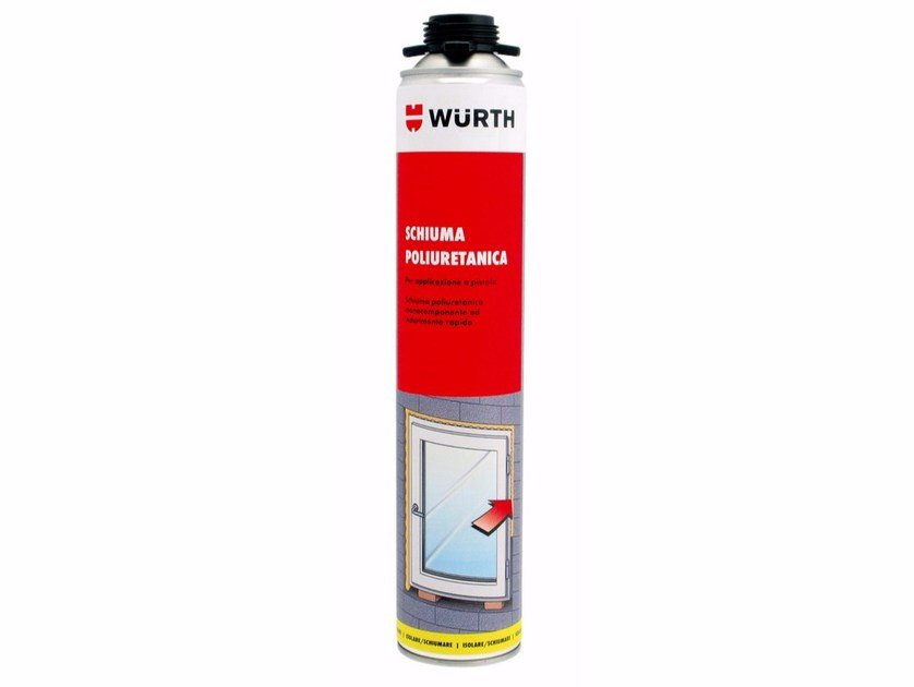 Single-component polyurethane foam Single-component foam for gun - Würth