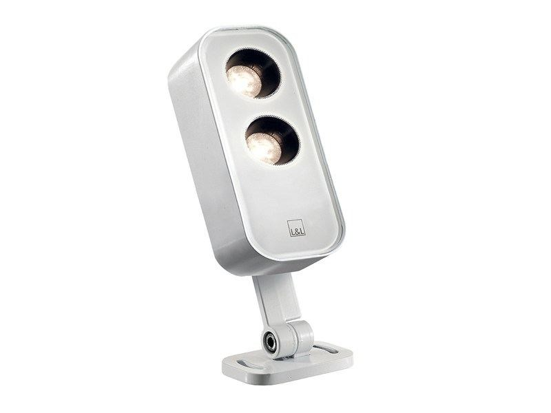 Die cast aluminium Outdoor floodlight Siri 1.0 - L&L Luce&Light