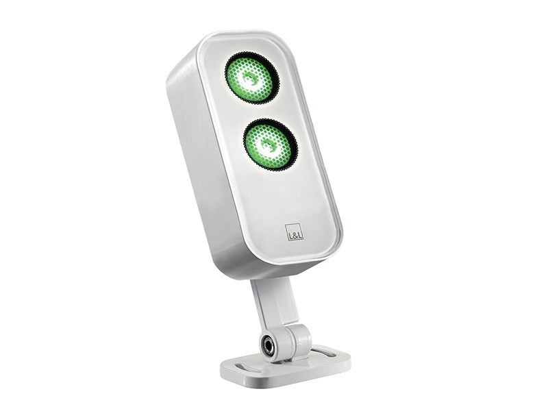 LED adjustable die cast aluminium Outdoor floodlight Siri 1.2 by L&L Luce&Light