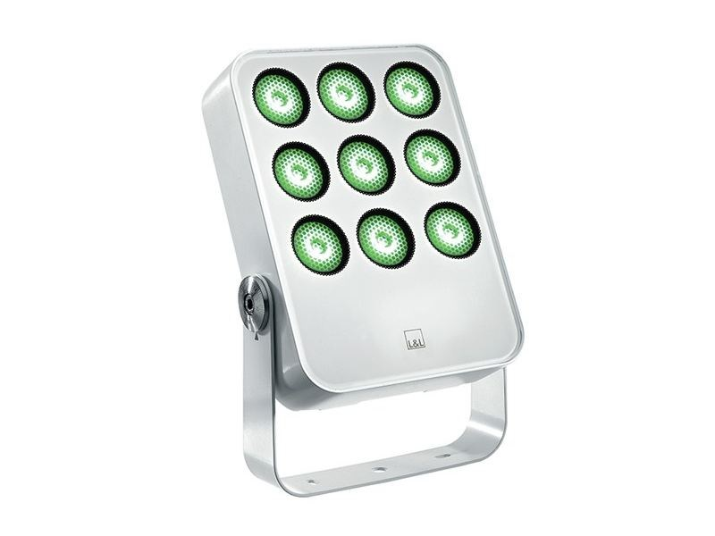 LED adjustable die cast aluminium Outdoor floodlight Siri 3.2 by L&L Luce&Light