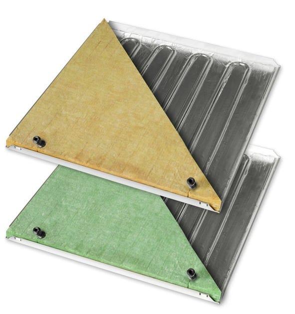 Radiant ceiling panel Sistema b!klimax+ Copper 8 by RDZ