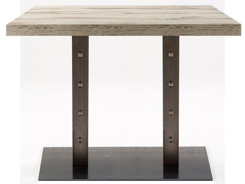 Rectangular contract table SLIM BORG 84/2 - Vela Arredamenti