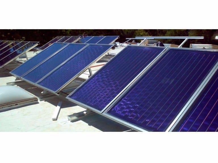Solar heating system Solar heating system - Fintek