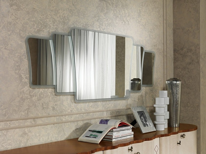 Wall-mounted mirror MISTRAL | Mirror by Carpanelli Contemporary
