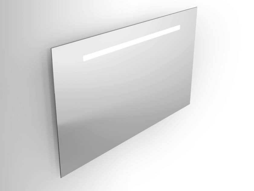 Wall-mounted mirror with integrated lighting Mirror with integrated lighting - Alna
