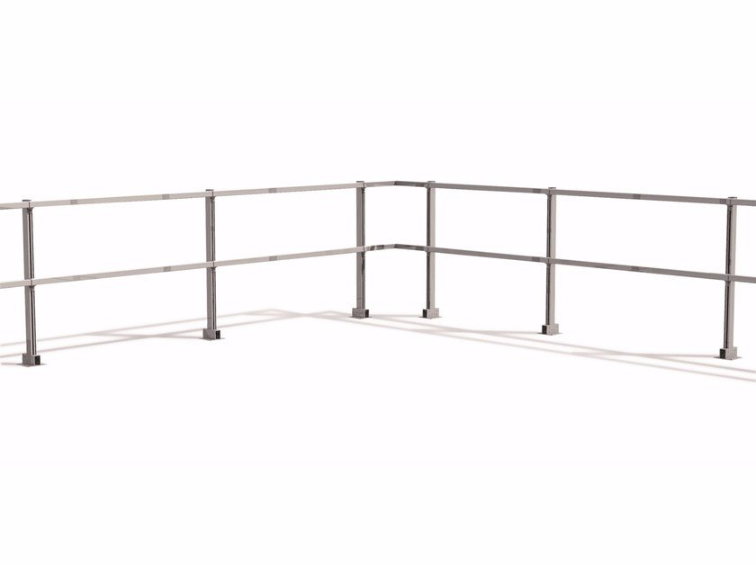 Aluminium balustrade / Fall protection system Balustrade - RODIGAS