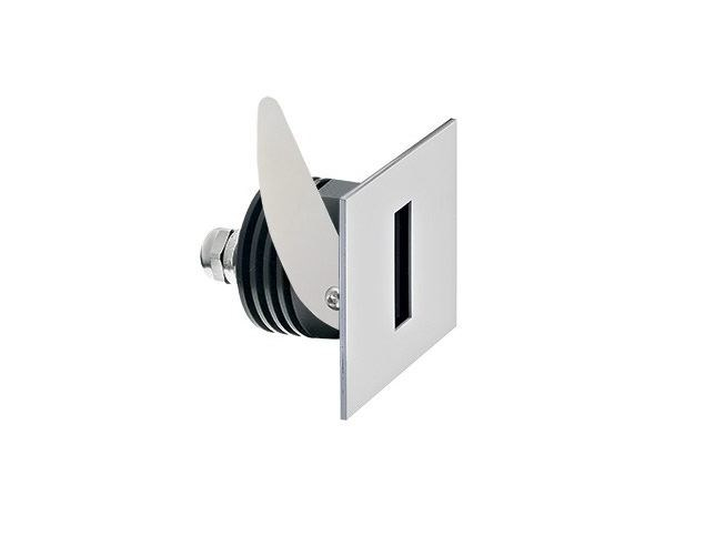 LED wall-mounted stainless steel steplight Step 6.3 - L&L Luce&Light