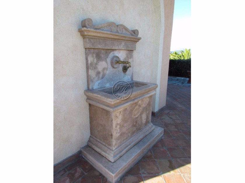 Natural stone sink Stone sink 1 - Garden House Lazzerini