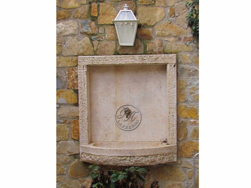 Natural stone sink Stone sink 6 - Garden House Lazzerini