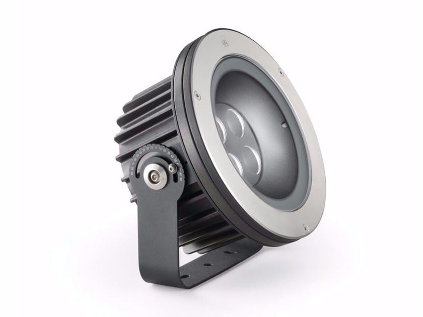 LED adjustable die cast aluminium Outdoor floodlight Stra P 1.0 by L&L Luce&Light