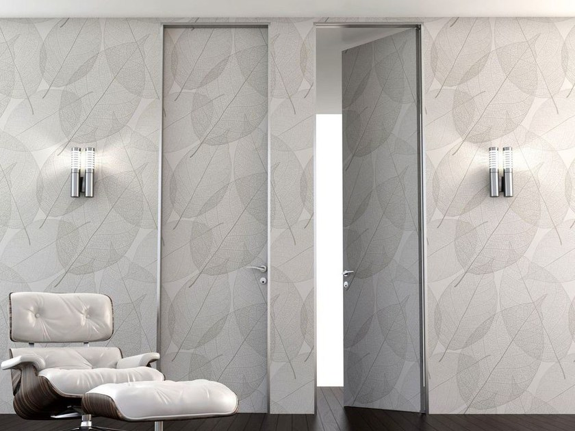 Hinged flush-fitting door SUITE 200 - Interno Doors