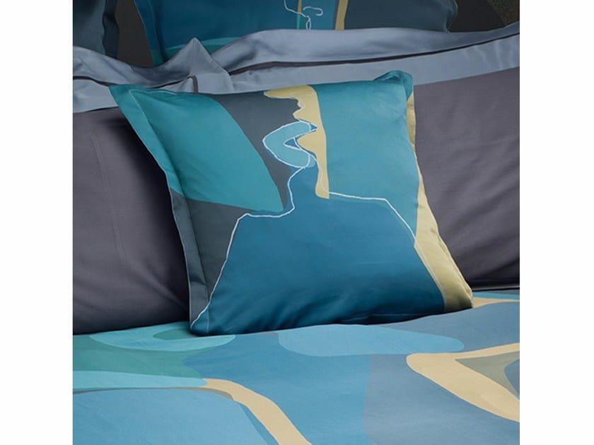 Square cotton cushion TÉTE À TÉTE | Cotton cushion - sans tabù