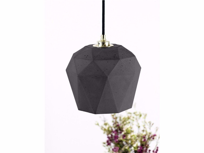 Cement pendant lamp [T3] DARK - GANTlights