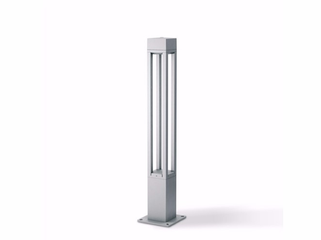 LED aluminium bollard light T4 - Platek