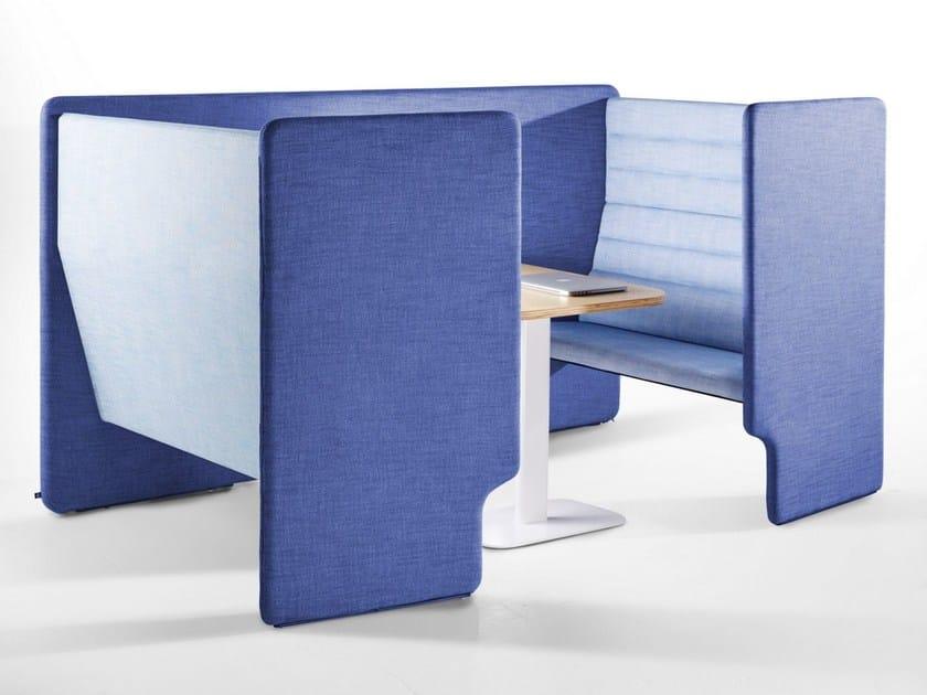 Multiple office workstation TAB | Multiple office workstation - Derlot Editions