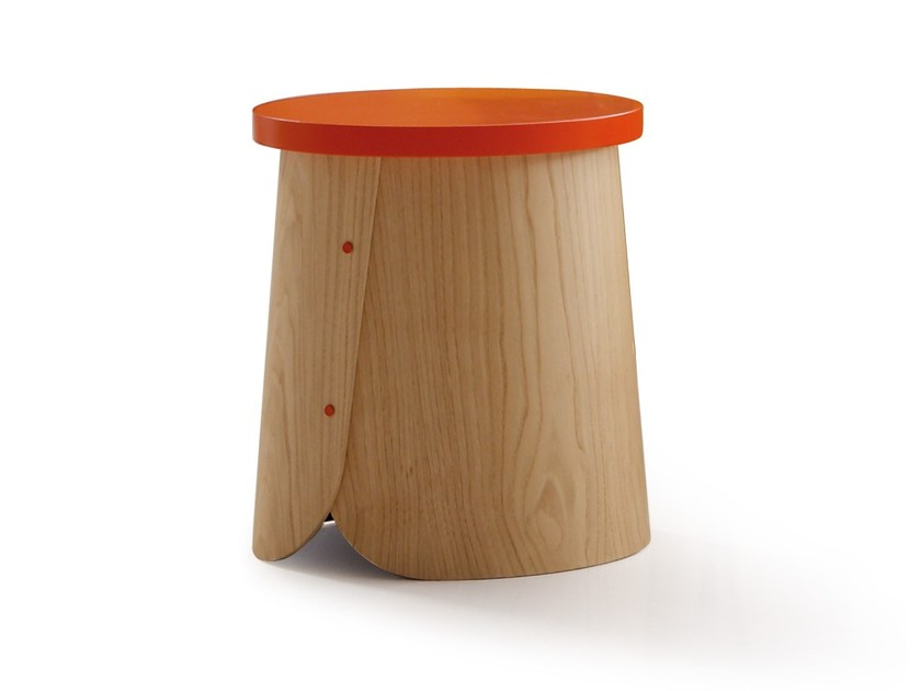 Wooden stool TAB | Stool - SANCAL